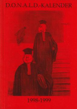 Der Donaldist Sonderheft 36: D.O.N.A.L.D. Kalender 1998-99 (Juristen)