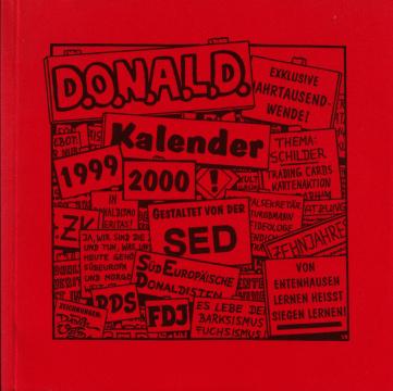Der Donaldist Sonderheft 37: D.O.N.A.L.D. Kalender 1999-2000 (Schilder)