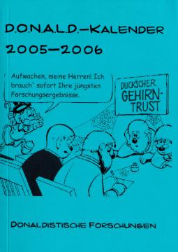 Der Donaldist Sonderheft 50: D.O.N.A.L.D. Kalender 2005/2006