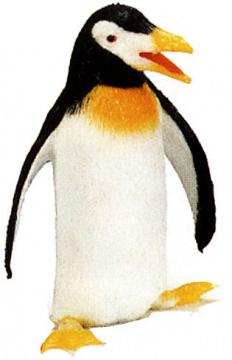 Quietschfigur Pinguin