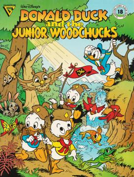 Gladstone Comic Album 18: Donald Duck and the Junior Woodchucks