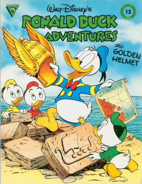 Gladstone Comic Album 13: Donald Duck Adventures The Golden Helmet