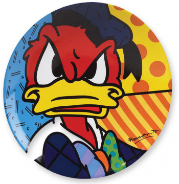 Donald Duck Wandteller (BRITTO)