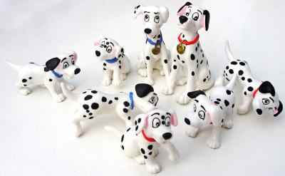 101 Dalmatiner (8 Figuren)
