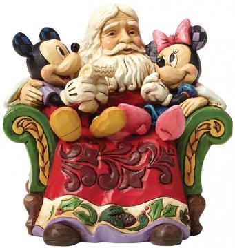 Santa mit Micky & Minni Maus: Christmas Wishes