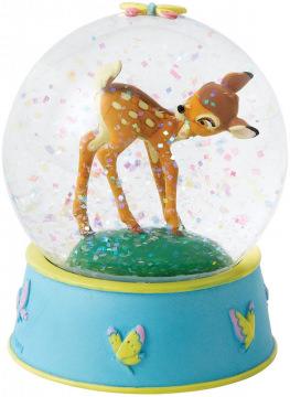 Bambi Schneekugel: Curious and Playful