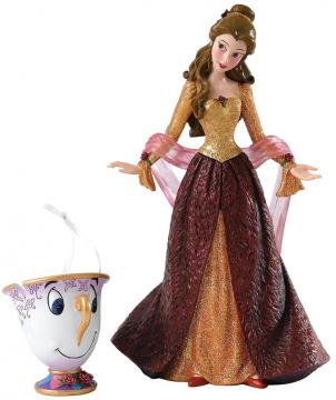 Weihnachtsfigur Belle mit Tassilo