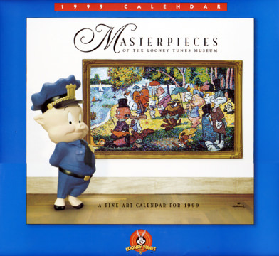 Masterpieces of the Looney Tunes Museum - A Fine Art Calendar for 1999