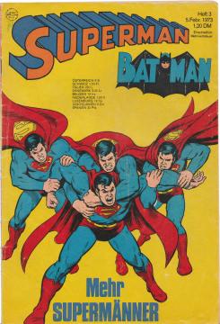 Superman Batman 3/1973