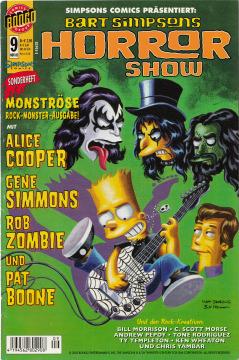 Bart Simpsons Horror Show (Bongo 9)