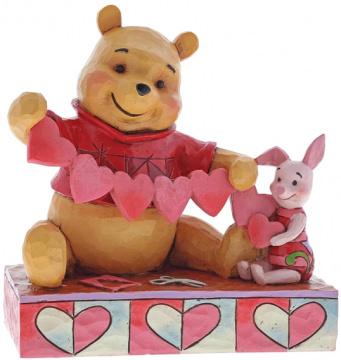 Winni Puuh & Ferkel: Handmade Valentines