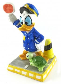 Donald Duck Verkehrspolizist
