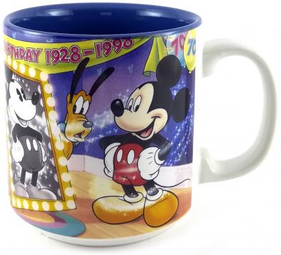 Becher Mickeys 70th Birthday 1928-1998