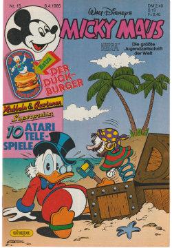 Micky Maus 15/1985 (m. Beilage / Z:1+)