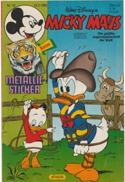 Micky Maus 12/1985 (m. Beilage / Z:1-2)