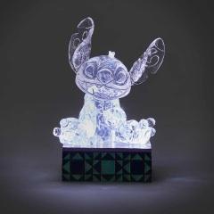 Stitch Figur eisklar beleuchtet