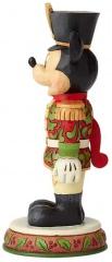 Micky Maus Figur: Tapferer Soldat