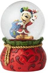 Santa Micky Maus Schneekugel: Bringing Holiday Cheer