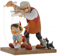 Pinocchio Figur: Little Wooden Head