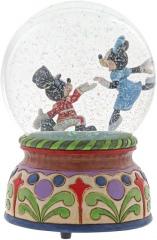 Micky & Minni Nußknacker Spieluhr Schneekugel