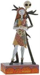 Jack & Sally Figur: Fated Romance (Nightmare Before Christmas)
