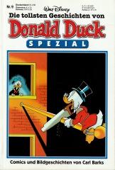 Die tollsten Geschichten von Donald Duck Spezial 9: Comics und Bildgeschichten von Carl Barks (Z:0-1)