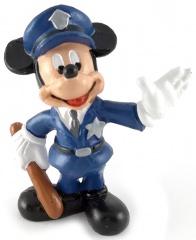 Micky Maus Polizist BULLY Kleinfigur