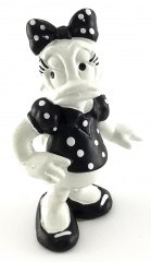 Daisy Duck BULLY Figur schwarz-weiß