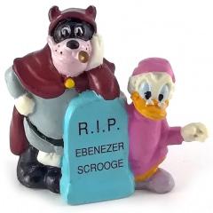 Scrooge & Black Pete:  R.I.P. Ebenezer Scrooge APPLAUSE Kleinfigur