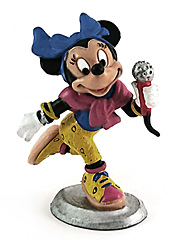 Minnie Mouse Disco-Queen BULLY NEW GENERATION Small Figure