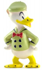 Donald Duck HEIMO Minifigur (hellgrün) 5cm