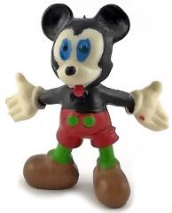 Micky Maus mit ausgebreiteten Armen HEIMO Kleinfigur