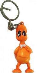 Schlüsselring Donald Duck orange