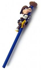 Bleistift mit Aufsatzfigur Goofy Forscher am Vogelnest APPLAUSE