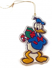 Donald Duck Weihnachtsbaumhänger Plastik MONOGRAM
