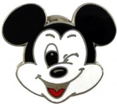 Anstecker Micky Maus verschmitzt