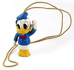Donald Duck Figur mit Kordel