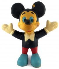 Micky Maus Gummifigur (ca. 70er Jahre)