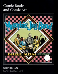 Sothebys Comic Books and Comic Art. Auction June 13 and 14, 1997 (Z:0-1)