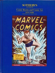 Sothebys Comic Books and Comic Art. Auction December 18, 1991 (Z:0-1)
