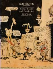 Sothebys Comic Books and Comic Art (New York Auction June 26, 1993)