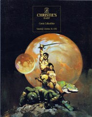 Christies East Comic Collectibles (Z:0-1)