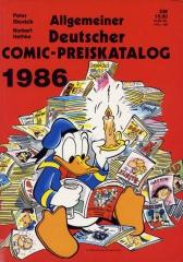 Allgemeiner Deutscher Comic Preiskatalog 1986 (SC)