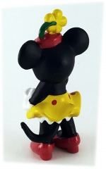 Minni Classic mit Blumenhut BULLY Kleinfigur 6cm