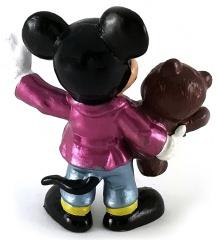 Micky Classic mit Teddy BULLY Kleinfigur (metallic)