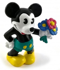 Mickey Classic with Flowers BULLY Small Figure