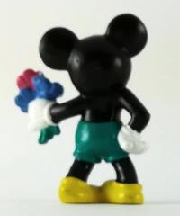Micky Classic mit Blumenstrauß BULLY Kleinfigur