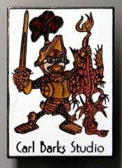 Anstecker Saint George (Carl Barks Studio)