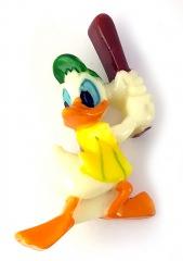 Anstecker Donald Duck Baseball