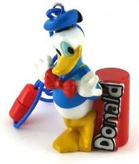 Bleistiftanspitzer Donald mit Bändchen